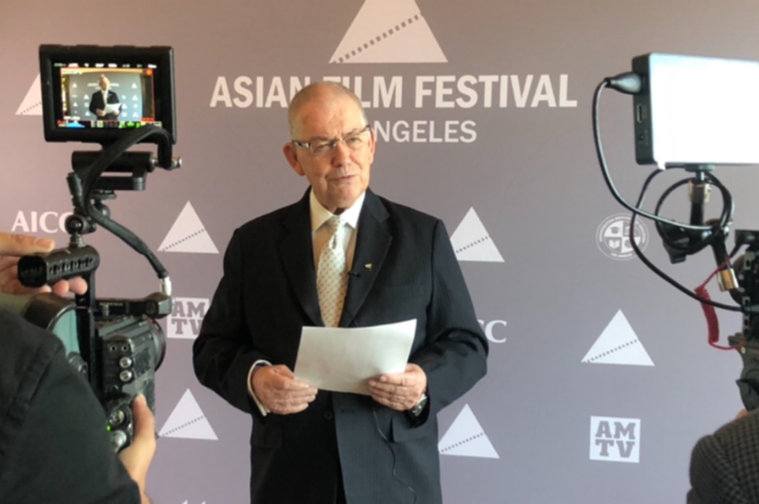 Amber Martinez, Made an Official Judge of the 2021 Asian Film Festival